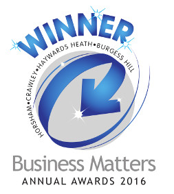 Winner - Horsham - Crawley - Haywards - Heath - Burgess Hill - Business Matters Annual Awards 2016